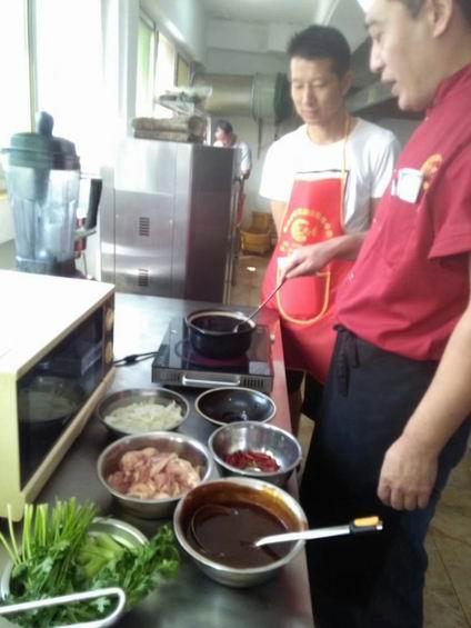 重庆鸡公煲培训过程展示